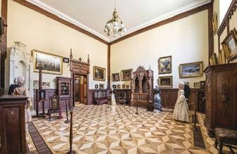 casa Theodor Aman - interior