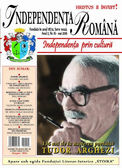 Independenta Romana - Mai 2016 (An 2, Nr. 16)