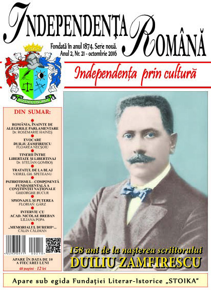 Independenta Romana – Octombrie 2016 (An 2, Nr. 21)