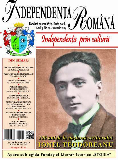 Independenta Romana – Ianuarie 2017 (An 3, Nr. 24)