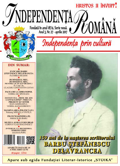 Independenta Romana – Aprilie 2017 (An 3, Nr. 27)