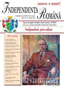Independenta Romana - Aprilie