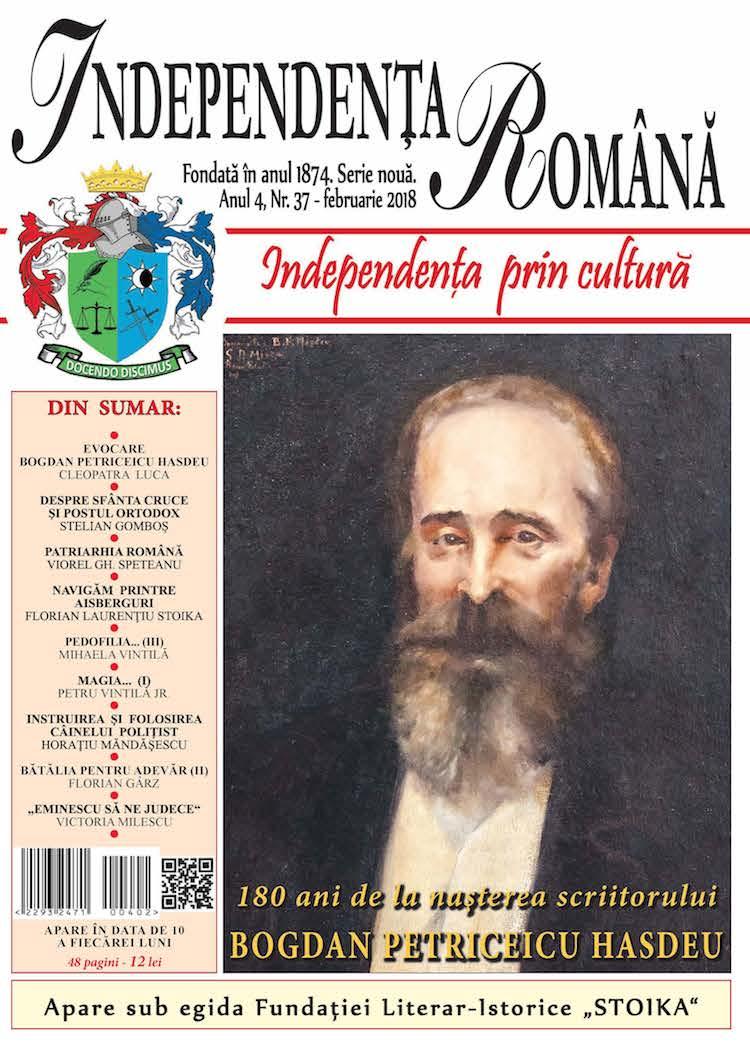 Independenta Romana – Februarie 2018 (An 4, Nr. 37)
