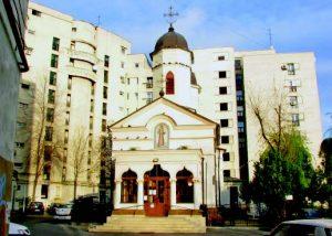 """Biserica Olari """"Cuibul cu barză"""""""