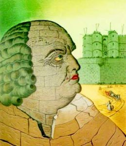 Marchizul de Sade, pictură Man Ray