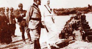 Regele Ferdinand și Regina Maria pe front