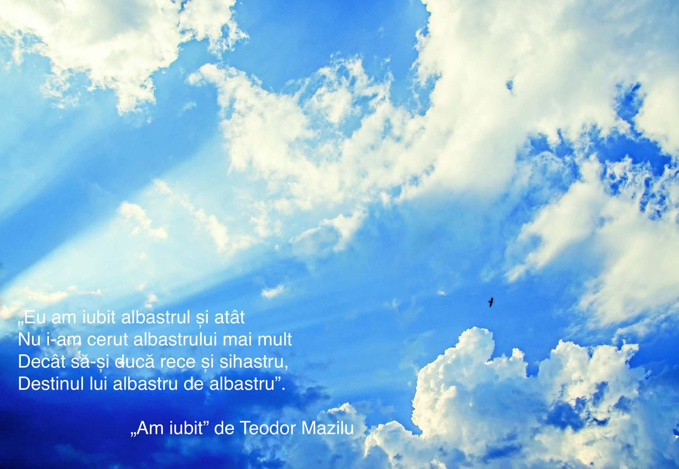 TEODOR MAZILU - Am iubit