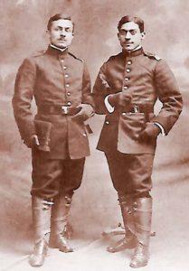 Frații poeți- Cesar Alexandru T. Stoika și Constantin T. Stoika - soldați voluntari în campania din Bulgaria 1913