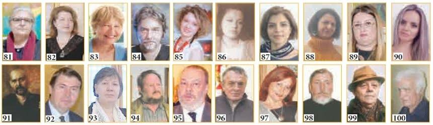 100 ARTISTI PLASTICI ROMÂNI CONTEMPORANI (V)