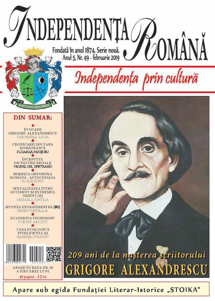 Independenta Romana – Februarie 2019 (An 5, Nr. 49)