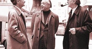 Împreună cu Mircea Eliade și Emil Cioran